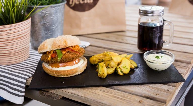 Vegan-burger-wok