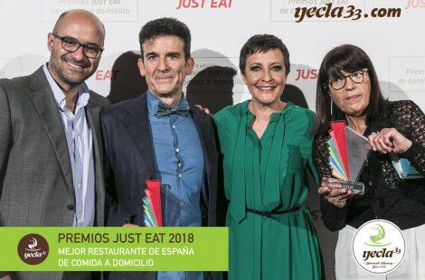 ¡Premiados con el galardón de 'Mejor restaurante de comida a domicilio de España'!