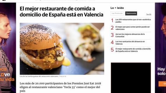 El Mejor Restaurante de Comida a Domicilio en medios