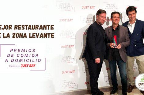 ¡Galardonados como el Mejor restaurante de comida a domicilio en la zona de Levante 2019!