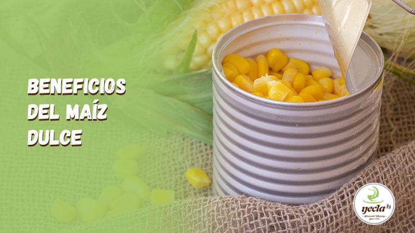 ¿Por qué es bueno el maíz dulce?