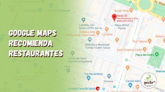 ¿Dónde cenar en València? ¡Pregunta a Google Maps!