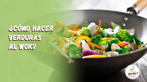 ¿Cómo hacer verduras al wok?