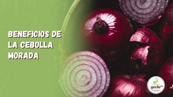 Beneficios de la cebolla morada. Un alimento bueno para tu salud