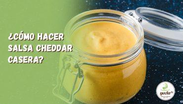 ¿Cómo hacer salsa cheddar casera?