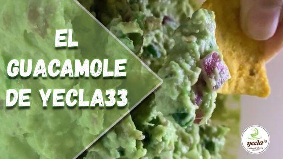 ¿Cómo hacer el guacamole de Yecla33?