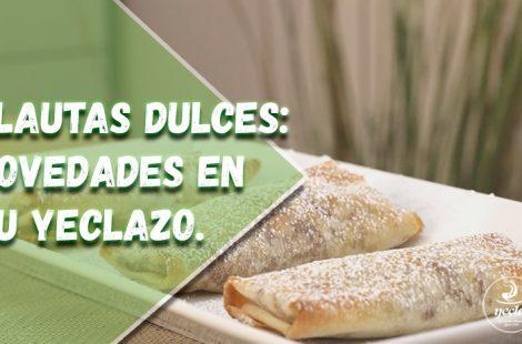 Flautas dulces de postre: novedades en tu yeclazo.