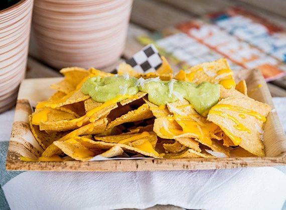 nachos dos salsas