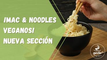 ¡Mac and Noodles veganos! Nueva sección en la web